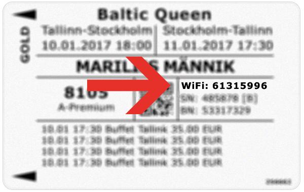 Baltic Queen Wifi