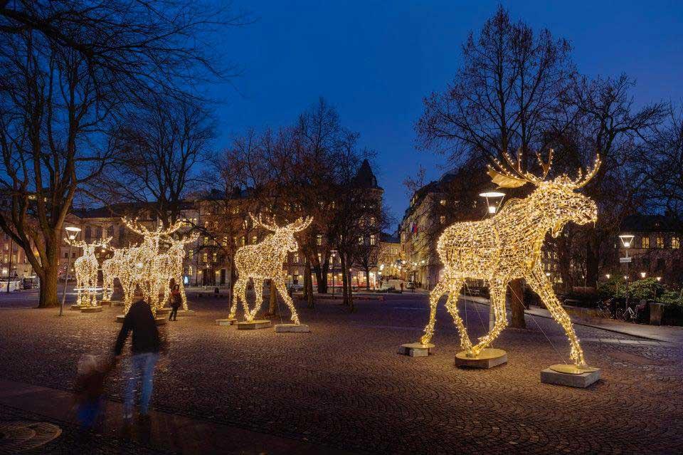 Stockholmis süüdatakse jõuludeaegu rohkem kui 1 000 000 jõulutulukest